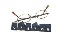 din klar vision Arkivbild