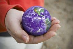 din värld Arkivfoto