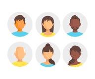 din website för rengöringsduk för projekt för presentation för folk för applikationsymbolsinternet Folket sänker symbolsuppsättni Royaltyfri Bild