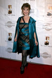 Dina Sherman, dress by Yeaggy arrives at the 39th Annual Annie Awards Stock Images