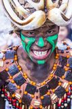 2018 Dinagyang Festival. ILOILO , PHILIPPINES - JAN 28 : Participant in the Dinagyang Festival in Iloilo Philippines on January 28 2018. The Dinagyang is Stock Photos