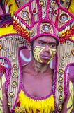 2018 Dinagyang Festival. ILOILO , PHILIPPINES - JAN 28 : Participant in the Dinagyang Festival in Iloilo Philippines on January 28 2018. The Dinagyang is Royalty Free Stock Photo