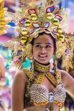 2018 Dinagyang Festival. ILOILO , PHILIPPINES - JAN 28 : Participant in the Dinagyang Festival in Iloilo Philippines on January 28 2018. The Dinagyang is Royalty Free Stock Image