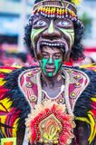 2018 Dinagyang Festival. ILOILO , PHILIPPINES - JAN 28 : Participant in the Dinagyang Festival in Iloilo Philippines on January 28 2018. The Dinagyang is Stock Image
