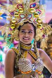 2018 Dinagyang Festival. ILOILO , PHILIPPINES - JAN 28 : Participant in the Dinagyang Festival in Iloilo Philippines on January 28 2018. The Dinagyang is Stock Photography