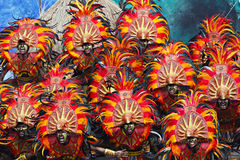 Dinagyang Festival Shout Stock Photos
