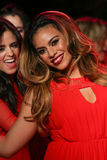Dinah Jane Hansen of Fifth Harmony walks the runway at the Go Red For Women Red Dress Collection 2015 during MBFW Fall 2015 Stock Photo