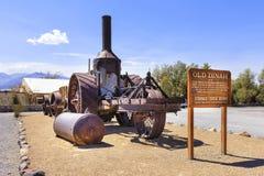 Dinah velho no Vale da Morte, Califórnia, EUA imagens de stock