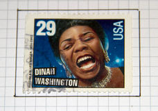 Dinah Washington Stock Image