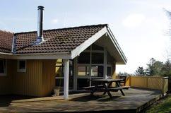 Dinamarca em Langeland Fotografia de Stock