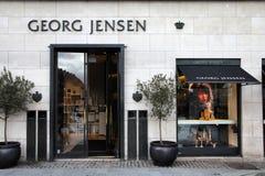 Dinamarca - Georg Jensen imagens de stock