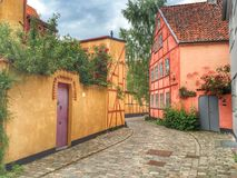 Dinamarca, Helsinger Foto de Stock Royalty Free