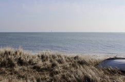 Dinamarca na praia Foto de Stock