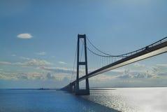 Dinamarca, puente imagenes de archivo