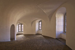 Dinamarca: Torre redonda de Copenhague Foto de archivo
