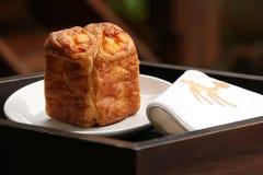 Dinamarquês do queijo do cubo Imagem de Stock