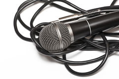 Dinamic microphone Royalty Free Stock Photography