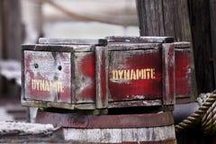 Dinamita fotografía de archivo libre de regalías
