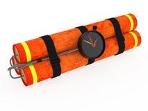 Dinamite con movimento a orologeria Fotografie Stock