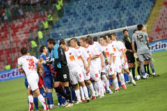 Dinamo Βουκουρέστι Στοκ εικόνες με δικαίωμα ελεύθερης χρήσης