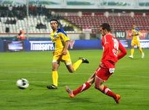 Dinamo Bucarest - Slatina photos stock