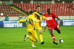 Dinamo Bucarest - Slatina Fotografía de archivo