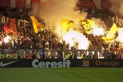 Dinamo Bucarest - Steaua Bucarest Photographie stock