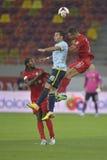 Dinamo Bucarest - Steaua Bucarest, derby rumeno di calcio Fotografie Stock Libere da Diritti