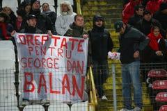 Dinamo Bucharest - FC Brasov Royalty Free Stock Photography