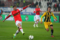 Dinamo Bucharest - FC Brasov Stock Photography