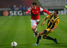 Dinamo Bucharest - FC Brasov Stock Images