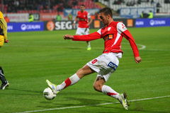 Dinamo Bucharest - FC Brasov Stock Photo