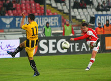 Dinamo Bucharest - FC Brasov Stock Image