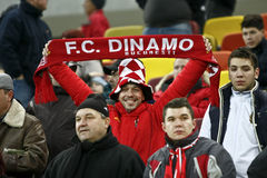 Dinamo Bucharest - Gaz Metan Medias Royalty Free Stock Images