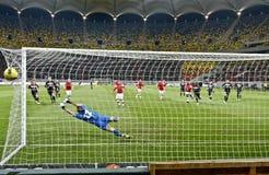 Dinamo Bucharest - Gaz Metan Medias Royalty Free Stock Photography
