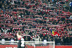 Dinamo Bucharest - Gaz Metan Medias Stock Images