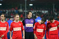 Dinamo Bucharest - Slatina Royalty Free Stock Photography