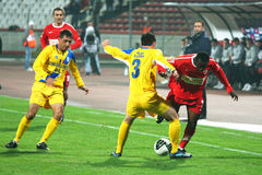 Dinamo Bucharest - Slatina Stock Image