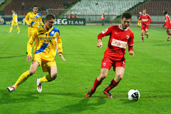 Dinamo Bucharest - Slatina Royalty Free Stock Images