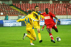 Dinamo Bucharest - Slatina Stock Photography