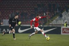 Dinamo Bucharest - Sportul Studentesc Stock Images