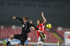 Dinamo Bucharest - Sportul Studentesc Stock Photos