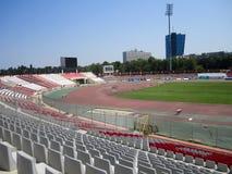 Dinamo Bucharest stadion, Rumänien Royaltyfria Bilder