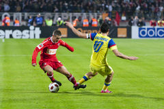 Dinamo Bucharest - Steaua Bucharest Stock Image
