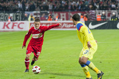 Dinamo Bucharest - Steaua Bucharest Royalty Free Stock Photos