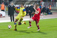 Dinamo Bucharest - Steaua Bucharest Stock Photo