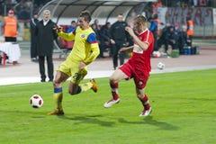 Dinamo Bucharest - Steaua Bucharest Stock Photo