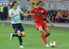 DINAMO BUCHAREST-STEAUA BUCHAREST, ROMANIAN LEAGUE 1 Stock Images