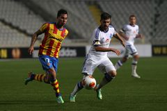 Dinamo Kyiv FC vs Walencja FC zdjęcie stock