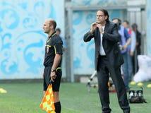 Dinamo (Moscow) beats Alania (Vladikavkaz) - (2:0) Stock Photography